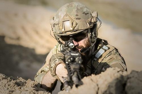 best AR-10 military guy pointing a gun